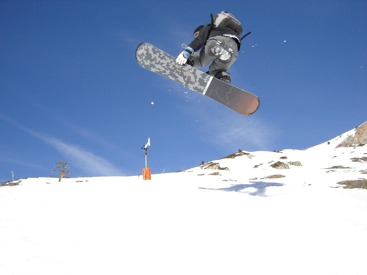 Le gothique au snowboard !!
